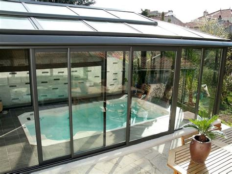 balcone chiuso a veranda piscine xs ou spa de nage veranda pour la maison