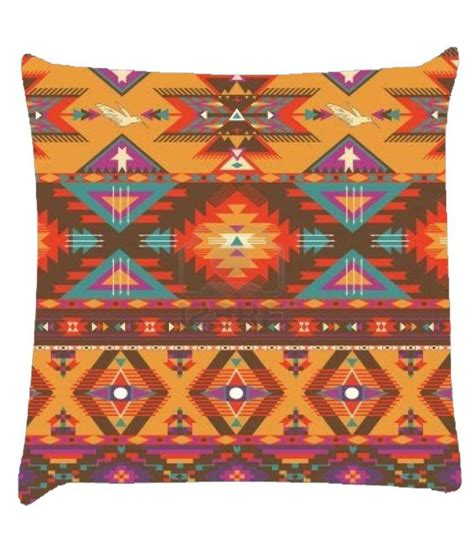 online aztec pattern maker snoogg aztec pattern cream stuff cushion cover buy online