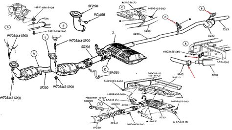Ford Exhaust System Diagram 98 Ford Explorer Exhaust System Diagram