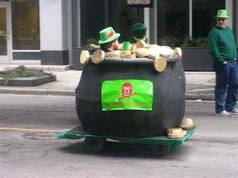 Milwaukee Makerspace St Patrick S Day Parade Floats Youtube Parade Float Featuring In Electric Chair Shocks