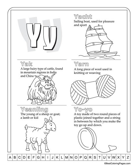 Dictionary Letter Y y for www pixshark images galleries with a bite