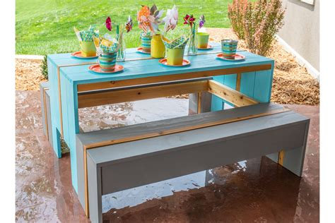 cool kids picnic table buildsomethingcom