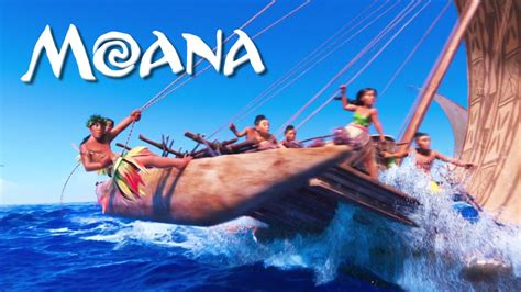 boat song from moana moana song quot we know the way quot youtube