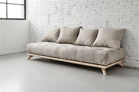 copridivano letto senza braccioli divano letto senza in legno di pino e futon
