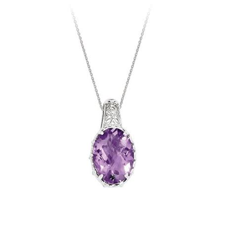 fred meyer jewelers amethyst pendant jewelry