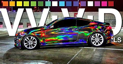 Auto Mit Rolle Lackieren Welche Farbe by 1 Meter Rolle 152cm Breit Vvivid Hologram Concept Folie