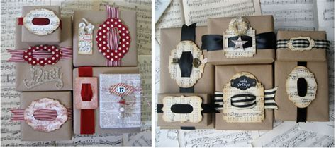 Clever Gift Ideas - clever gift wrap ideas tim holtz