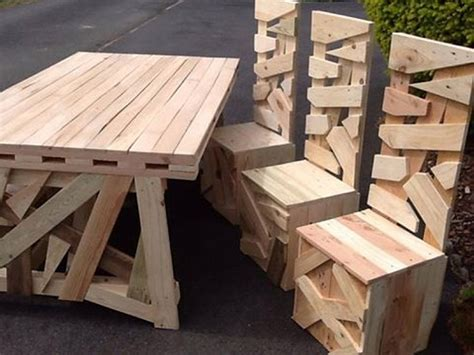 pallet patio table superb patio pallets table with chairs pallet ideas