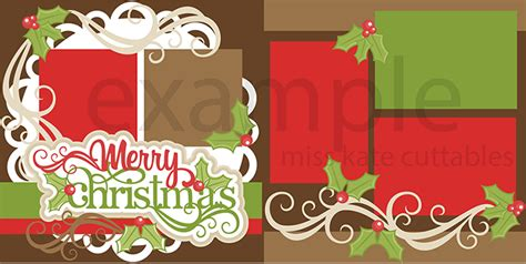 scrapbook title for christmas foods on the table merry svg scrapbook title cut outs for cricut svg cut files free svgs