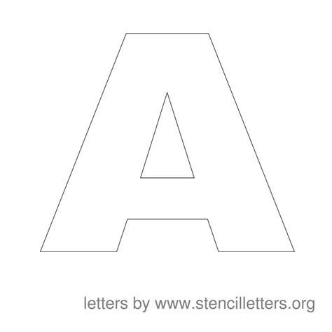 printable a z stencils large stencil letters stencil letters org