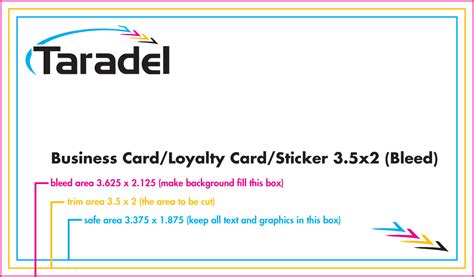 business card sticker template taradel business cards templates