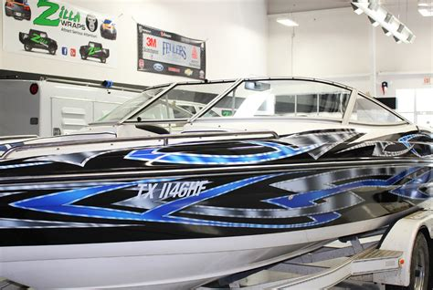 boat decal wraps boat graphics fort worth zilla wraps