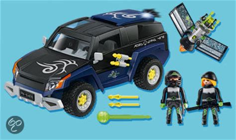 Playmobil Agenten Auto by Bol Playmobil Top Agents Robo Gangster Terreinwagen