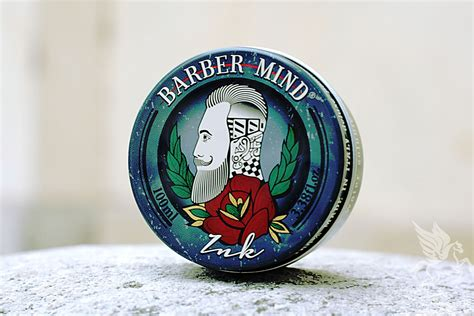 Pomade Acca capelli barber mind ink hair pomade beard alchemy shop