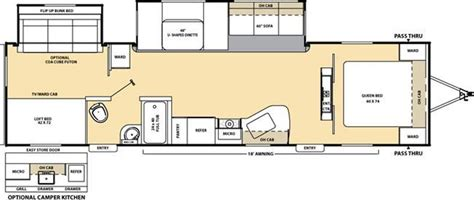 catalina rv floor plans 2010 coachmen catalina photos details brochure floorplan