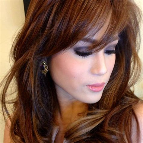hair color for pinays toni gonzaga singer actress philippines filipina love