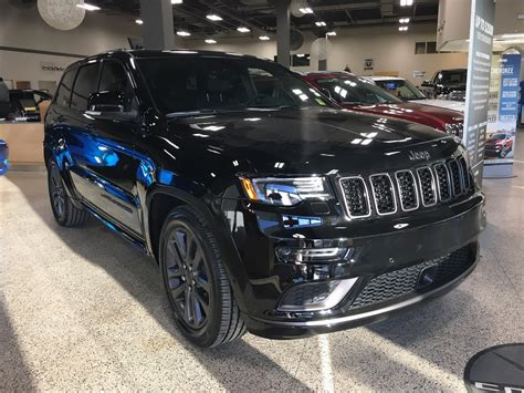 jeep sunroof 2018 jeep grand high altitude ii v6 sunroof