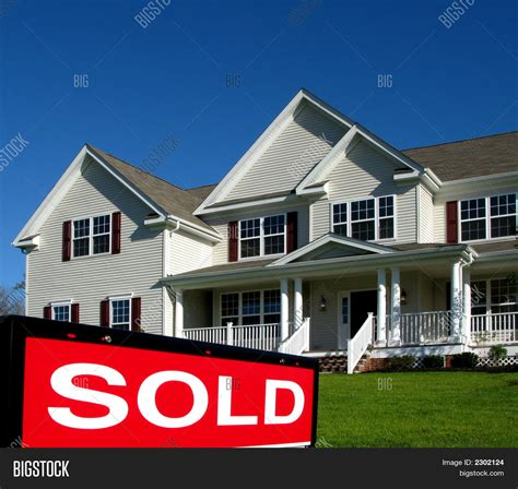 House Realtor by Real Estate Sold Sign House Image Photo Bigstock