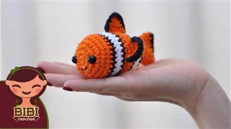 amigurumi nemo pattern amigurumi nemo en crochet tsum tsum bibi crochet