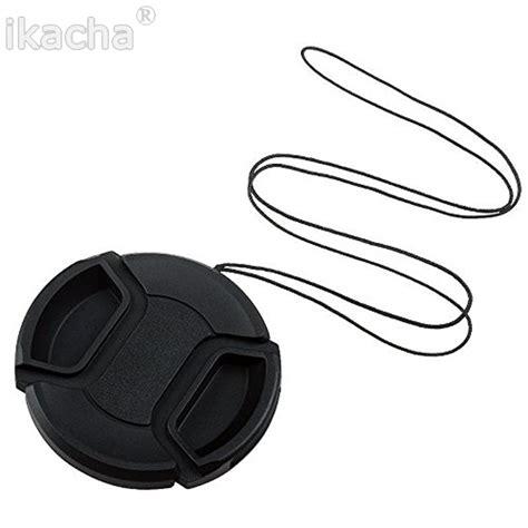 Lens Cap Cover 49mm מוצר lens cap protection cover 49mm 52mm 55mm 58mm 62mm 67mm 72mm 77mm with anti lost