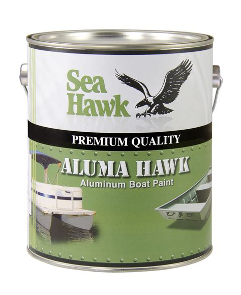 zinc boat paint aluma hawk boat paint aluminum grey gallon ebay