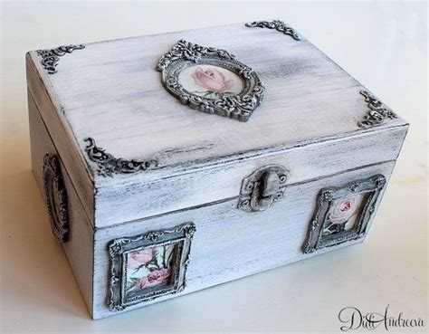 decoupage jewelry box ideas best 25 shabby boxes ideas on ring bearer box
