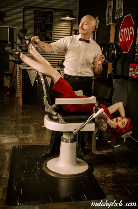 Barbershop Girls Leg Shaving | pin by jessica ping on barber business card inspiration