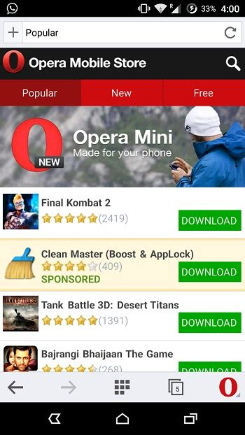 opera mobile app store top 6 play store alternatives