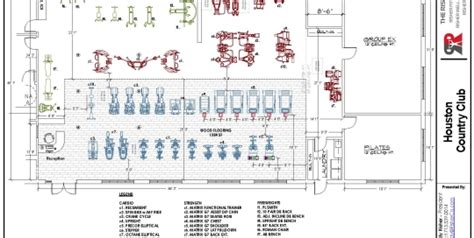 product layout equipment equipment layout fitness center consultation risher