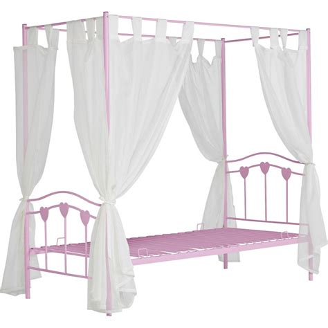 Four Poster Beds Available From Fourposterbeds Co Uk Single Four Poster Bed Frame