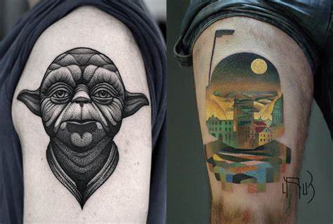starwars tattoo wars jedi tattoos www pixshark images