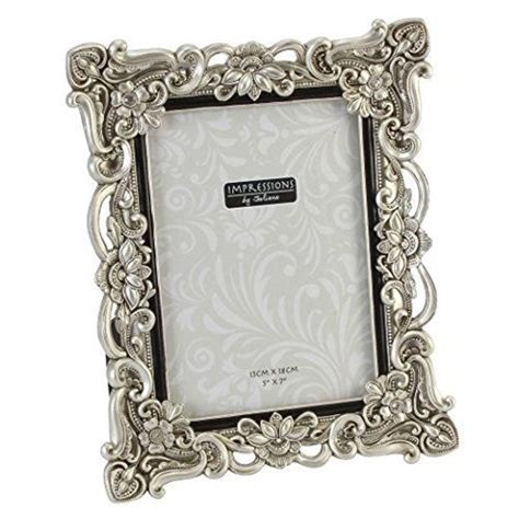 antique silver vintage ornate shabby chic picture photo