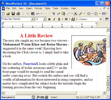 Wordperfect Spreadsheet by Microsoft Windows Tutorial Lesson 3 Fundamentals Of