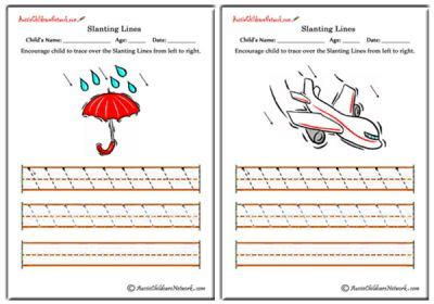 pattern writing slanting lines slanting lines worksheets left to right aussie