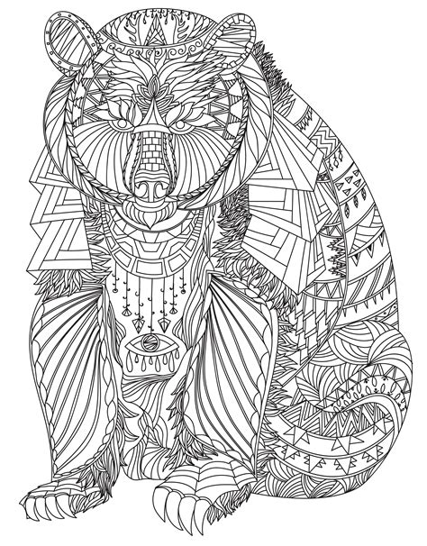 Animal Zendoodle Coloring Pages | happy pub day zendoodle keep calm and color on