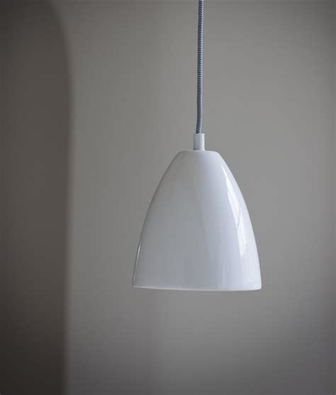 ceramic pendant lights ceramic pendant on a braided black white flex