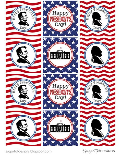 printable pictures presidents presidents day printable