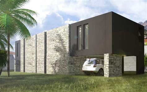Construction Site Plan by Maison Mcdu Maison Contemporaine Conjuguant Traditionnel