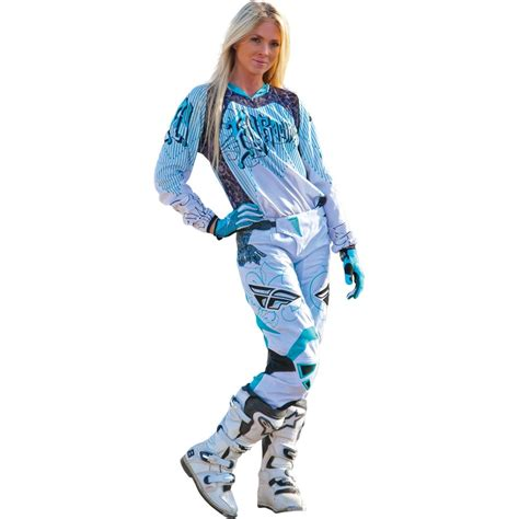 womens motocross gear packages fly racing 2015 womens kinetic jersey race pant package