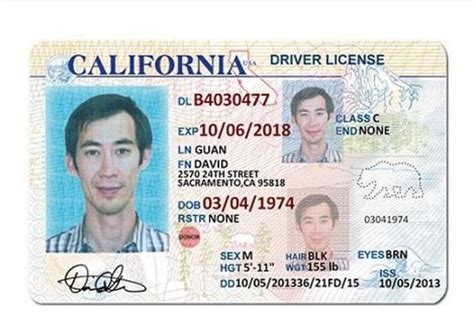 state id template 10 california drivers id template psd images california
