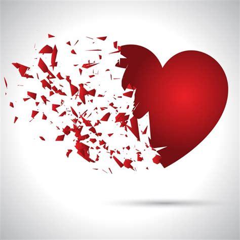 imagenes de corazones rotos para descargar coraz 243 n roto fondo san valent 237 n descargar vectores gratis