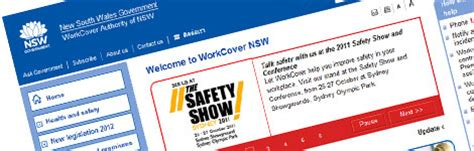 Layout Work Cover   workcover nsw best sharepoint design exles