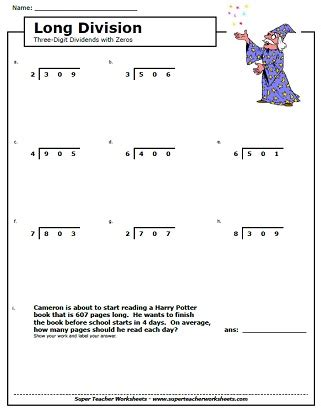 printable long division practice worksheets long division worksheets