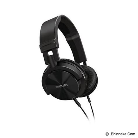 Philips Lightweight Headphone Dj Style Shl 3060 Garansi Original jual headphone size philips dj monitor style headphones shl 3000 00 black original