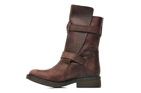 steve madden caveat ankle boots in brown at sarenza co uk