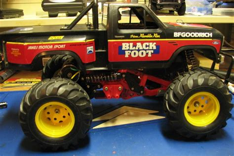 tamiya blackfoot please help me figure out the model of this electric truck