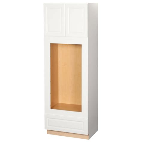double oven cabinet home depot hton bay hton assembled 33 x 96 x 24 in pantry