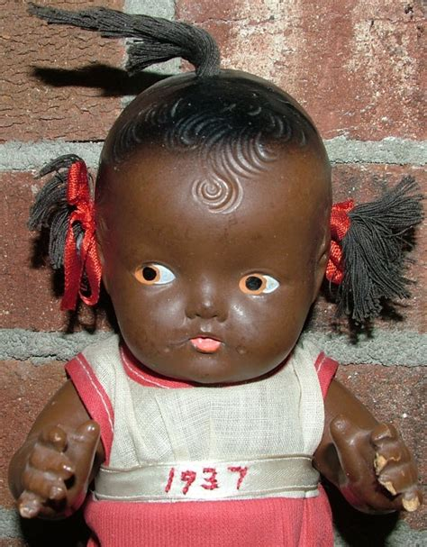 black doll 1930s quot topsy quot composite doll reliable company 1930 s