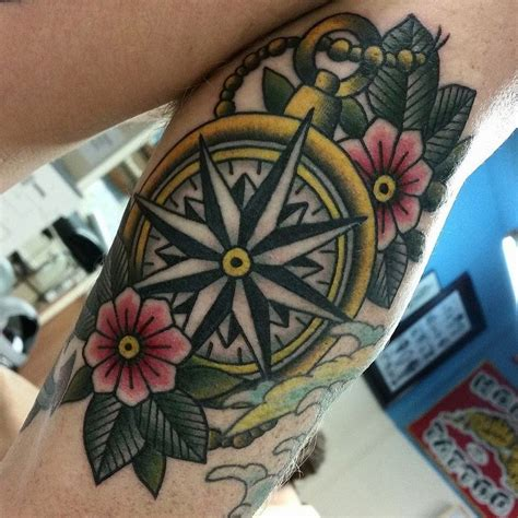 traditional compass tattoo 25 best ideas about traditional compass on