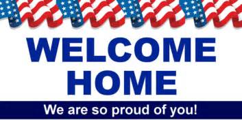 flag welcome home banner template sign4x